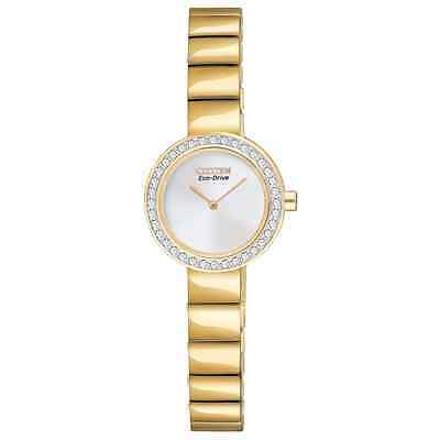 Citizen Eco-Drive Gold-plated Stone Set Bracelet Watch  • 115£