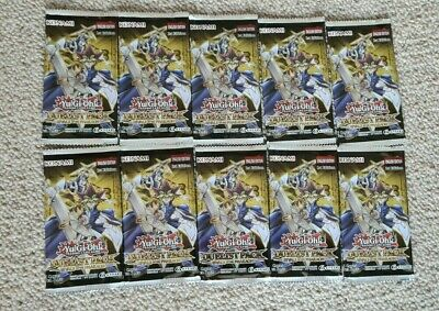 10x Booster Yu-Gi-Oh!  Duelist Pack Rivals Of The Pharaoh 1st Edition Box Card • 29.99£