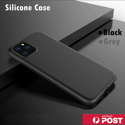 AU6.99 • Buy Silicone Soft Shockproof Back Case Cover For IPhone 12 11 Pro XS MAX X XR 7 Plus