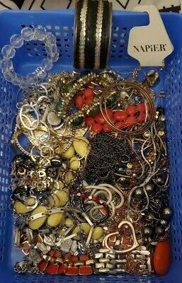 $ CDN31.38 • Buy Vintage To Now Jewelry Lot, Jewelry Grab Bag