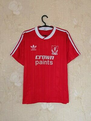 Liverpool 1987 - 1988 Vintage Home Football Soccer Shirt Jersey Adidas Size L • 255.37£