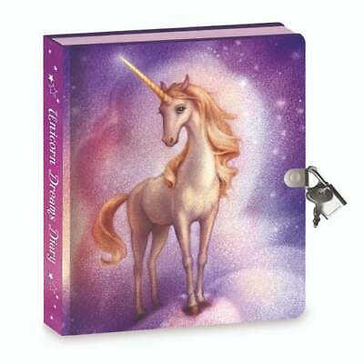 Peaceable Kingdom Lockable Diary Unicorn Dreams With Invisible Ink Pen • 12.50£