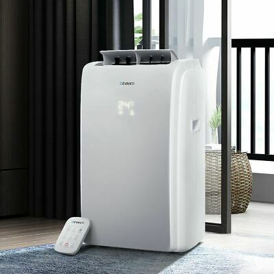 AU423.95 • Buy Home Portable Air Conditioner Unit W/ Remote Cooling Mobile Dehumidifier White