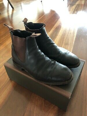 AU125 • Buy RM Williams Leather Boot Shoes - 7.5 H (Wide) - Chestnut - Dynamic Flex With Box