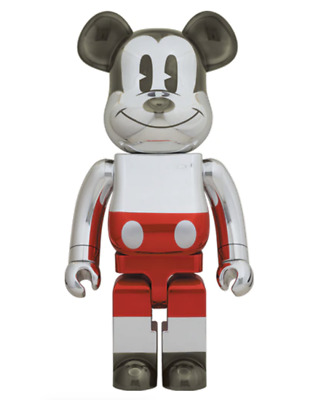$3000 • Buy Future Mickey 1000% Bearbrick 2nd Ver 2020 Dcon Medicom Sorayama Japan 2G