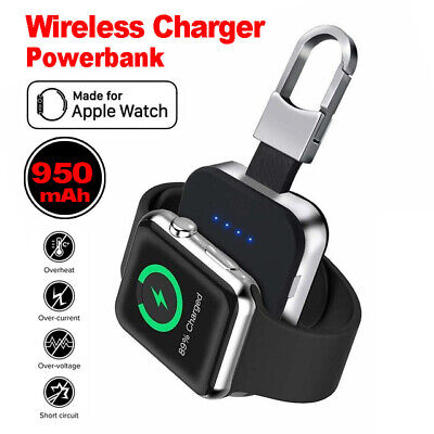 $ CDN26.20 • Buy For Apple Watch Series 6/5/4/3/2/1 IWatch Portable USB Wireless-Charger Keychain