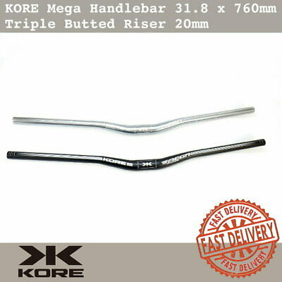 $35.90 • Buy KORE Mega MTB Handlebar 31.8 X 760mm AL7075-T6 Triple Butted Riser 20mm