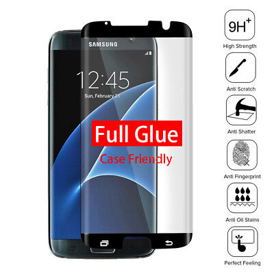 $ CDN6.37 • Buy 3D Full Glue Adhesive Tempered Glass For Samsung Galaxy S7 Edge Screen Protector