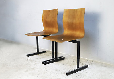 AU115.88 • Buy 1970's Mid Century Danish Stackable Chairs By Niels Larsen Moller - 30 Available