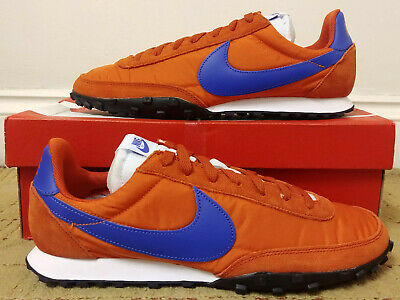 BNIB Nike Air Waffle Racer CN8116 800 Team Orange Game Royal Blue UK 10 US 11 45 • 49.99£