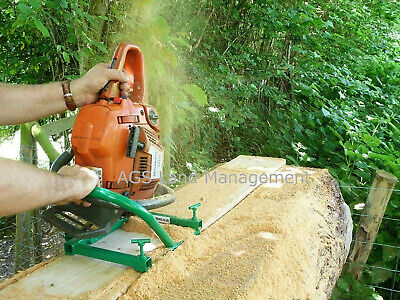 CHAINSAW MILL Planking Lumber Boards Milling Vertical Cut Wood Cutting Tool   • 51.99£