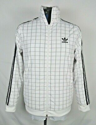 $ CDN44.51 • Buy ADIDAS TREFOIL Originals Colorado Grid Print Track Jacket Men's Medium
