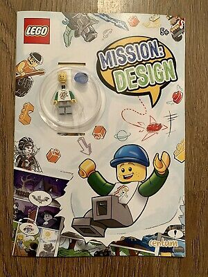 £3.99 • Buy Lego Mission Design Drawing Writing Doodle Activity Book & Mini Figure 5+