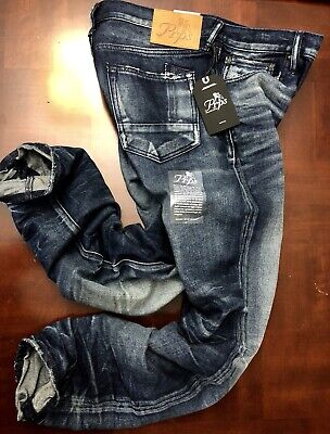 PRPS Artisan Denim Demon LE SABRE Slim Fit Distressed Jeans Size W30 L32 $378 • 99.71£