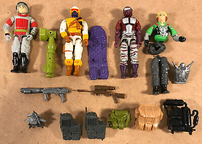 $ CDN38.93 • Buy G.I. Joe ARAH Lot Of 4 Figures + 7 Accessories, 1980s/90s - Some With Play Wear