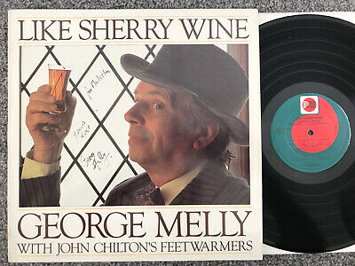 George Melly - Like Sherry Wine - PRT Records LP - N140 • 2.99£