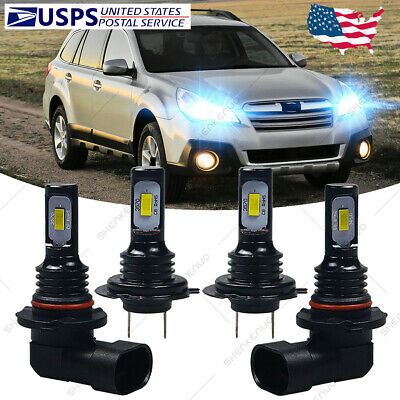 $26.32 • Buy For Subaru Legacy Outback 2005-2014 - 8000K LED Headlight Bulb High Low Beam HKL
