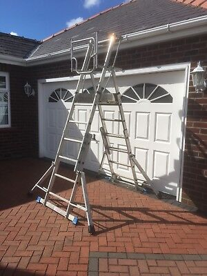 Youngman Teleguard Telescopic Platform Ladder • 175£