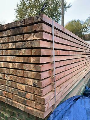 £15 • Buy Timber Treated 4 X2  - 50mm X 100mm X 6m Mix Of C16&C24