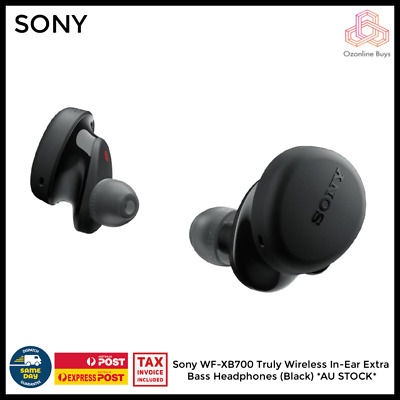 AU133 • Buy Sony WF-XB700 Truly Wireless In-Ear Extra Bass Headphones (Black) * AU STOCK *