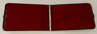 Exquisite Sterling 925 Silver Note & Stamp Case: Birmingham 1907 • 22£