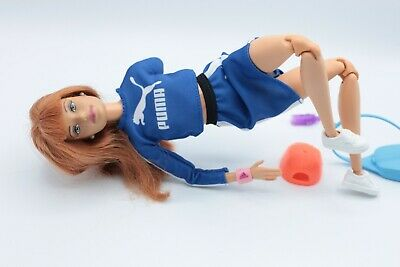 Barbie Made To Move Midge Fashionista Articulated Sporty OOAK Doll PUMA ADIDAS • 34.99£