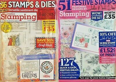 Christmas Card Making Bundle - 87 Stamps And Dies • 9.99£