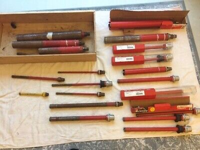 Hilti Various Sizes Diamond Core Drill Bits. 10 New 6 Used In Good Condition • 450£