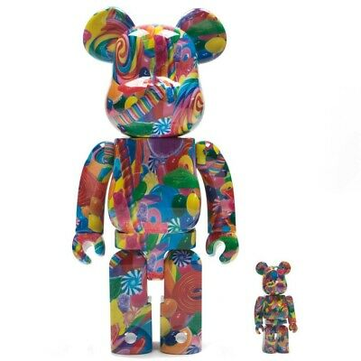 $300 • Buy Medicom BE@RBRICK Dylan's Candy Bar 100% 400% Bearbrick Figure Set
