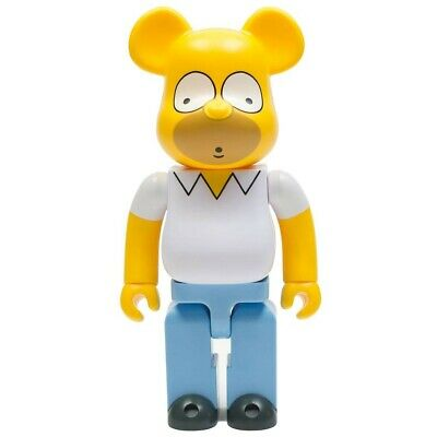 $200 • Buy Medicom BE@RBRICK The Simpsons Homer Simpson 400% Bearbrick Figure