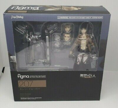 Official Max Factory Figma 207 Eren Yeager Anime Sketch Figure Rare Boxed • 54.99£