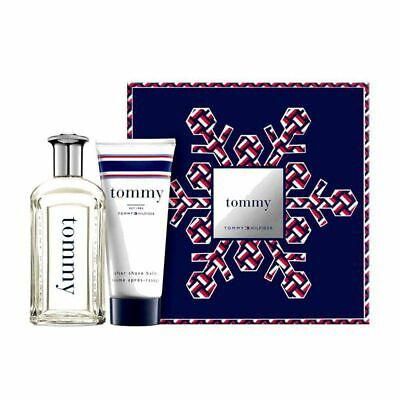 New Tommy Hilfiger American Traveler Gift Set 100ml Edt & 100ml Aftershave Balm • 27£