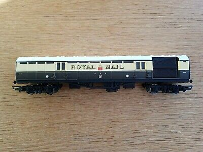 Hornby OO Gauge R4108 ROYAL MAIL Traveling Post Office TPO GWR Brown Cream 848 • 40£