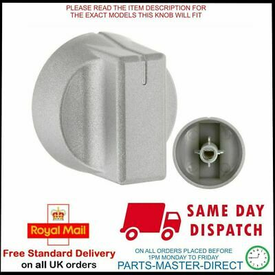 Fits Stoves New World Oven Cooker Silver Hob Knobs Control Dial 083337502 • 7.99£