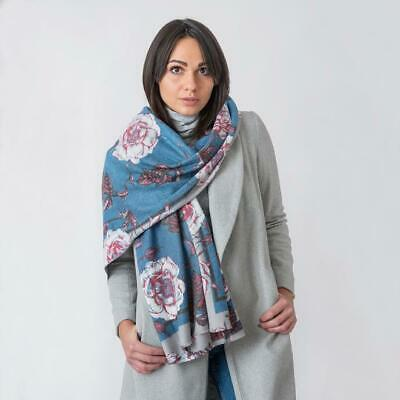 Forever England Naomi Scarf In Blue • 12.95£