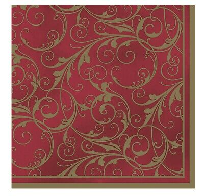 £4.49 • Buy Napkins For Decoupage Dining Decorations Vintage Luxury 33x33cm 3PLY 20 Pack