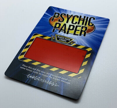 £2.99 • Buy Dr Doctor Who Battles In Time Cards Rare Exterminator Psychic Paper