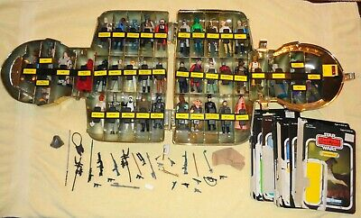$ CDN326.65 • Buy Lot Of 40 ! Star Wars Figures — VINTAGE !! Kenner With Accessories In Case WOW