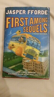 First Among Sequels - Jasper Fforde. Signed Copy. • 14£
