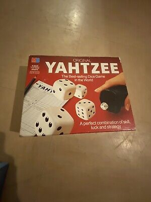 Original Yahtzee Game - MB - Best Selling Dice Game In The World - 1982 Milton B • 3£