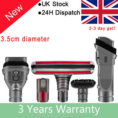 Brush Attachments Kit For Dyson V6 Accessories Fit With DC16 DC24 DC34 DC35 DC59 • 9.99£