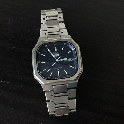 $ CDN68.63 • Buy Vintage Seiko 5 Automatic 17 Jewel Stainless Steel Banded Mens Wristwatch #604