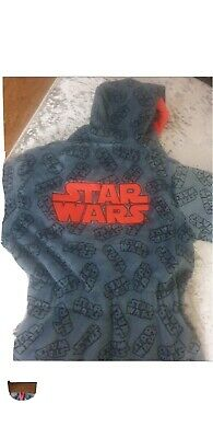 SALE Boys Star Wars Dressing Gown Age 5 To 6 Years New • 6.99£