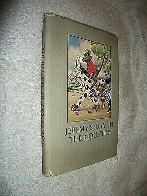 Jeremy's Day In The Country. 1949 Ladybird Book In Dust Jacket. Series 401 • 30£