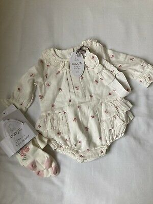 BNWT Gorgeous Girls Outfit 0-3 Months • 1.99£