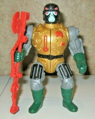 $26 • Buy Blast Attak W Weapon Masters Of The Universe He-Man Figure Lot MOTU Mattel Rare
