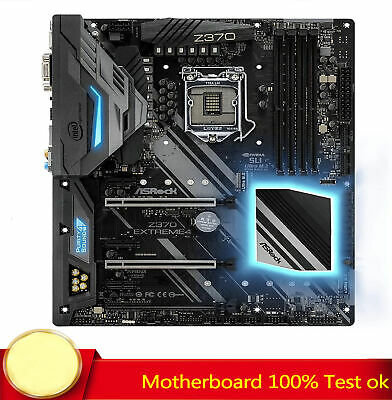 AU700.41 • Buy 100% Tested FOR ASRock Z370 EXTREME4 Motherboard Supports 9th Generation DDR4