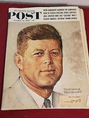 $ CDN12.72 • Buy Saturday Evening Post JFK Norman Rockwell  October 29, 1960