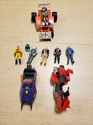 $64.25 • Buy Vintage Kenner M.A.S.K. Figures, Firefly, Piranha Parts And Others Lot