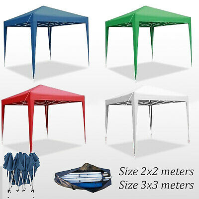 2MX2M 2.5MX2.5M 3MX3M Pop Up Gazebo Party Tent For Garden Canppy Outdoor Marquee • 49.99£